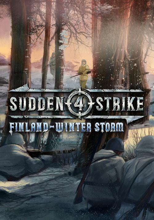 Sudden Strike 4 - Finland: Winter Storm - Cover