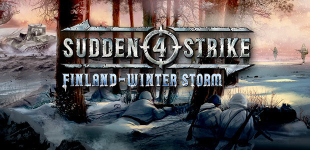 Sudden Strike 4 - Finland: Winter Storm - Cover / Packshot