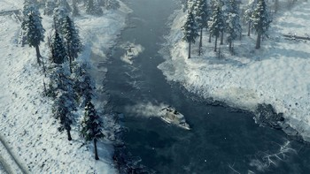 Screenshot2 - Sudden Strike 4 - Finland: Winter Storm
