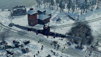 Screenshot6 - Sudden Strike 4 - Finland: Winter Storm