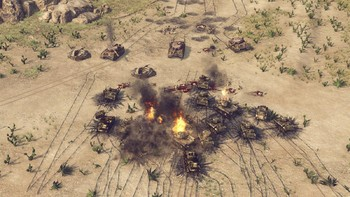 Screenshot3 - Sudden Strike 4 - Africa: Desert War