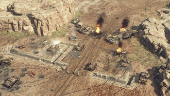 Screenshot2 - Sudden Strike 4 - Africa: Desert War