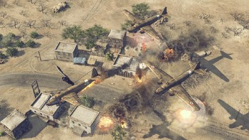 Screenshot8 - Sudden Strike 4 - Africa: Desert War