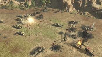 Screenshot9 - Sudden Strike 4 - Africa: Desert War