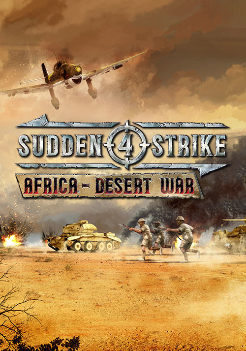Sudden Strike 4 - Africa: Desert War  - Cover / Packshot