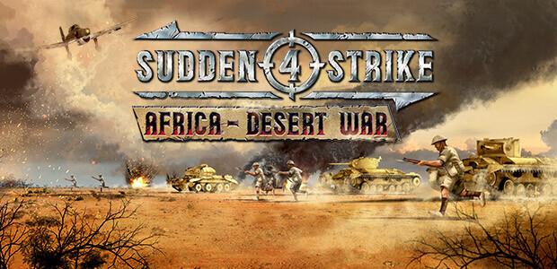 Sudden Strike 4 - Africa: Desert War  - Cover / Packshot