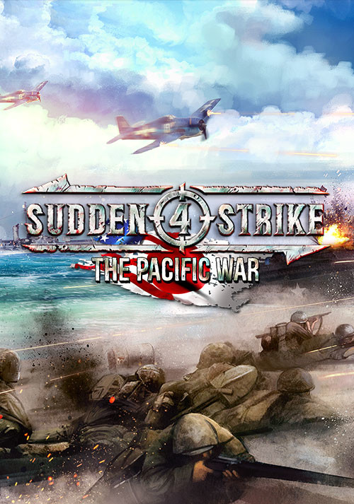 Sudden Strike 4: The Pacific War - Cover