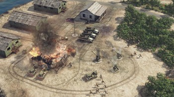 Screenshot4 - Sudden Strike 4: The Pacific War