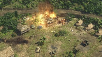 Screenshot1 - Sudden Strike 4: The Pacific War