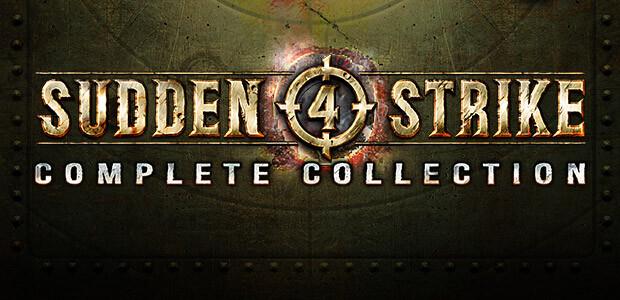 Sudden Strike 4: Complete Collection - Cover / Packshot