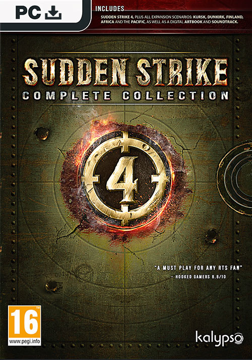 Sudden Strike 4: Complete Collection - Cover / Packshot