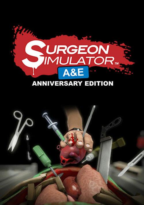 Surgeon Simulator: Anniversary Edition - Cover