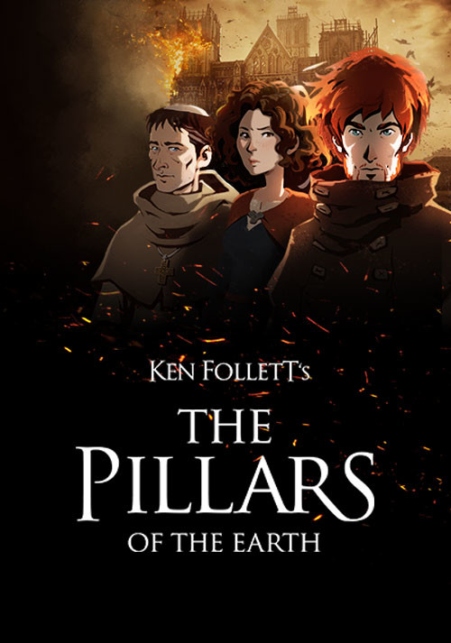 Ken Follett's The Pillars of the Earth - Cover