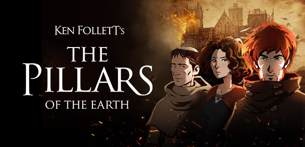 Ken Follett's The Pillars of the Earth - Cover / Packshot
