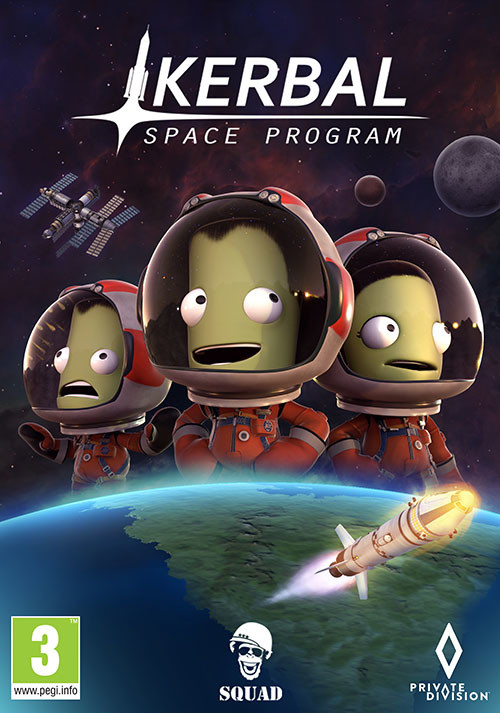 Kerbal Space Program - Cover / Packshot