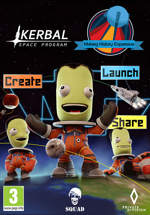 Kerbal Space Program: Making History - Cover
