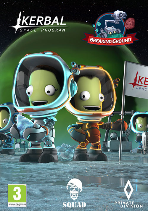 Kerbal Space Program: Breaking Ground Expansion - Cover / Packshot