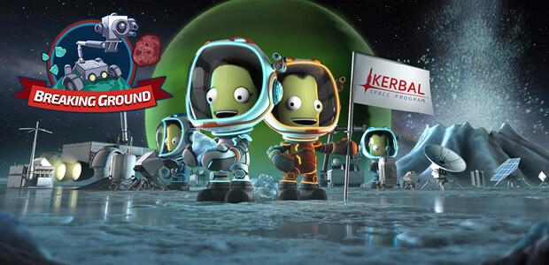 Kerbal Space Program: Breaking Ground Expansion - Cover / Packshot