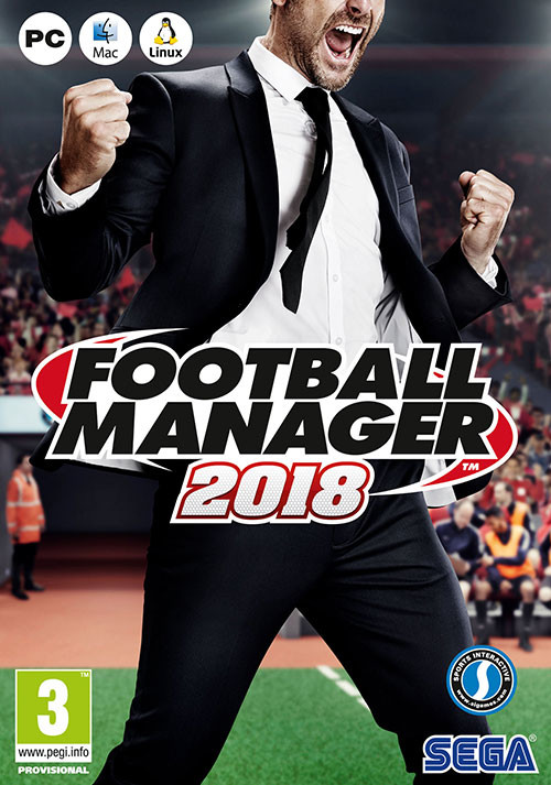 Football Manager 2018 - Packshot