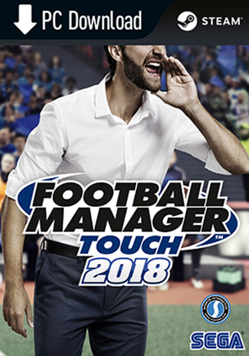 Football Manager Touch 2018 - Packshot