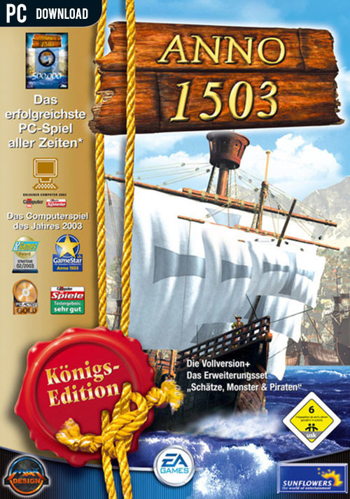 Anno 1503 - Königsedition - Cover / Packshot