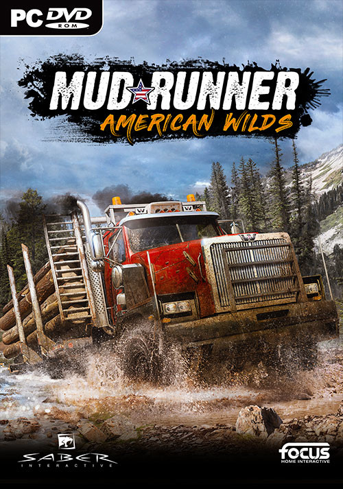 MudRunner - American Wilds Edition - Cover / Packshot
