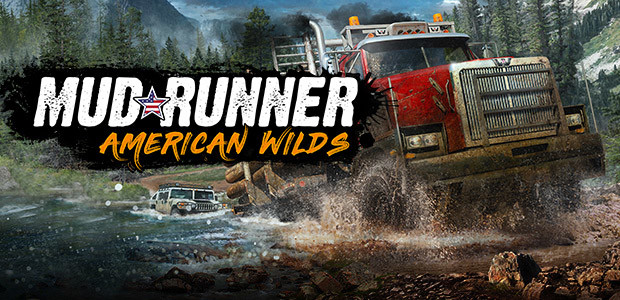 MudRunner - American Wilds Edition - Cover / Packshot
