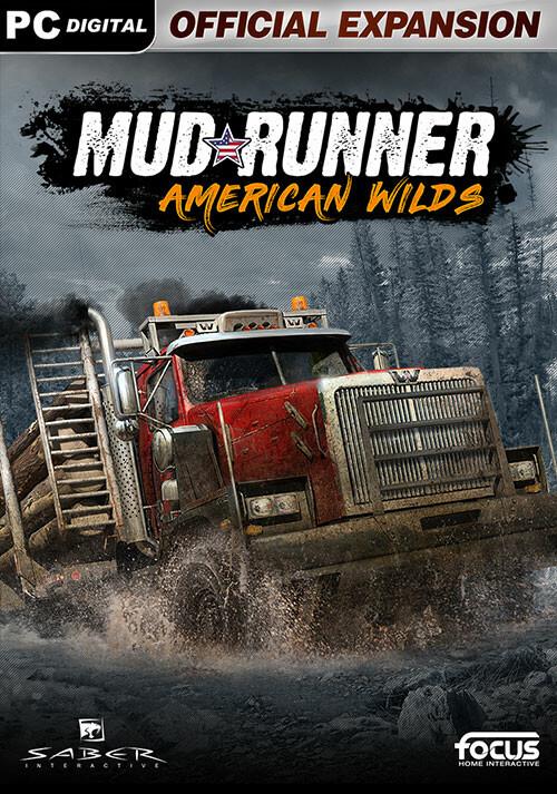 MudRunner - American Wilds Expansion - Cover / Packshot