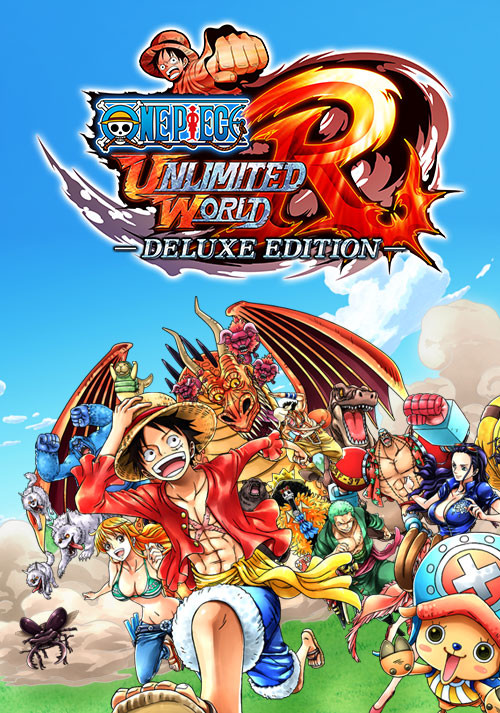 One Piece: Unlimited World Red - Deluxe Edition - Cover