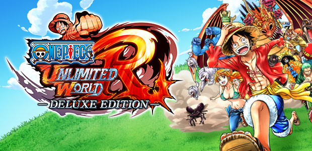 One Piece: Unlimited World Red - Deluxe Edition - Cover / Packshot