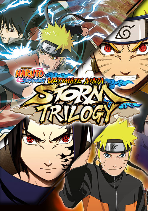 NARUTO SHIPPUDEN: Ultimate Ninja STORM Trilogy - Cover