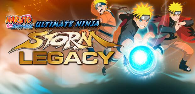NARUTO SHIPPUDEN: Ultimate Ninja STORM Legacy - Cover / Packshot