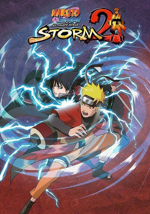 NARUTO SHIPPUDEN: Ultimate Ninja STORM 2 - Cover