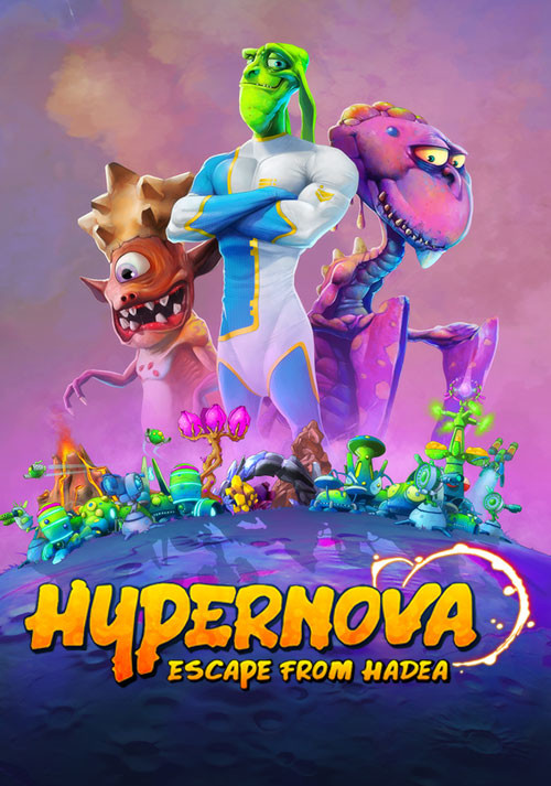 HYPERNOVA: Escape from Hadea - Cover