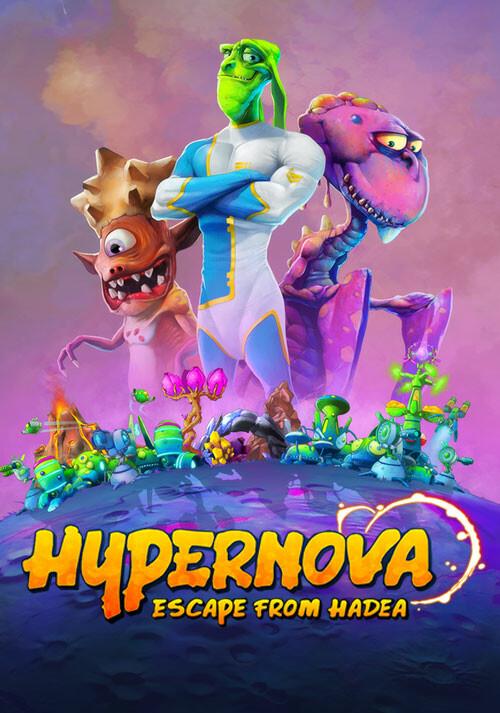 HYPERNOVA: Escape from Hadea - Cover