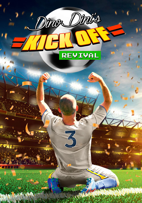 Dino Dini's Kick Off™ Revival - Packshot
