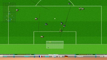 Screenshot1 - Dino Dini's Kick Off™ Revival