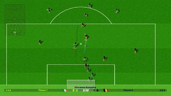 Screenshot3 - Dino Dini's Kick Off™ Revival