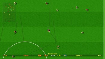 Screenshot2 - Dino Dini's Kick Off™ Revival