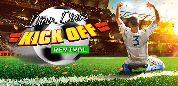 Dino Dini's Kick Off™ Revival - Cover / Packshot