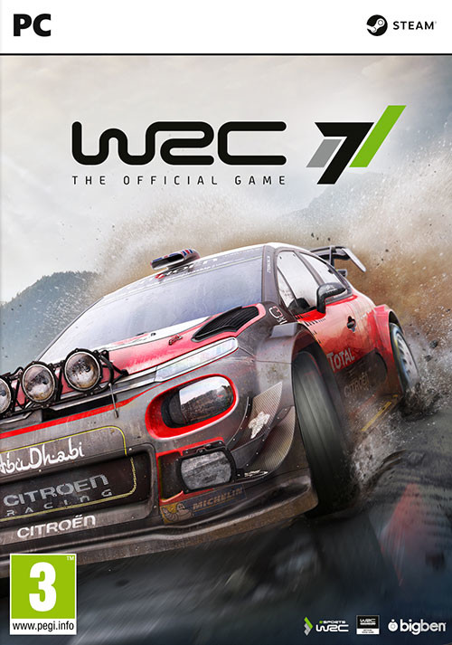 WRC 7 FIA World Rally Championship - Cover / Packshot