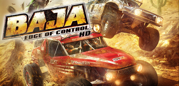 BAJA: Edge of Control HD - Cover / Packshot