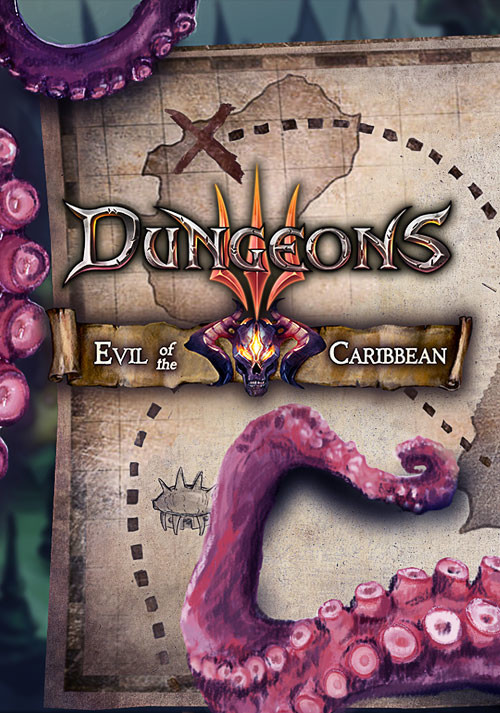 Dungeons 3: Evil of the Caribbean  DLC - Cover