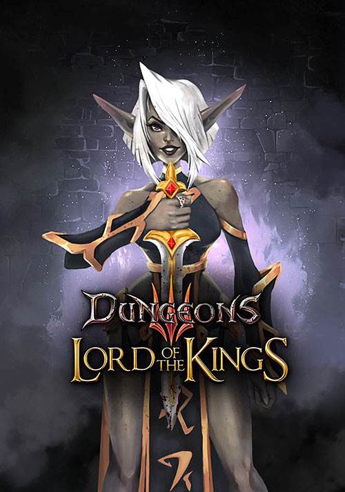 Dungeons 3: Lord of the Kings DLC - Cover / Packshot