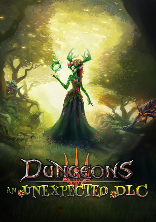 Dungeons 3: An Unexpected DLC - Cover / Packshot