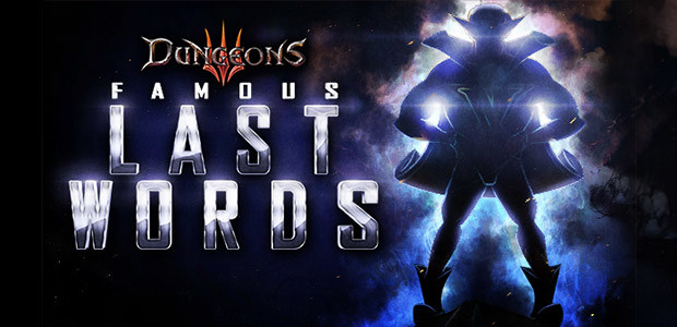 Dungeons 3: Famous Last Words DLC