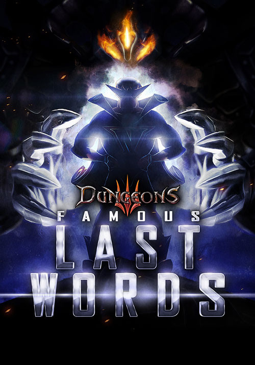 Dungeons 3: Famous Last Words DLC - Cover