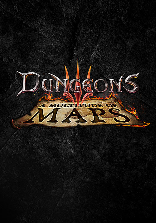 Dungeons 3: A Multitude of Maps DLC - Cover / Packshot