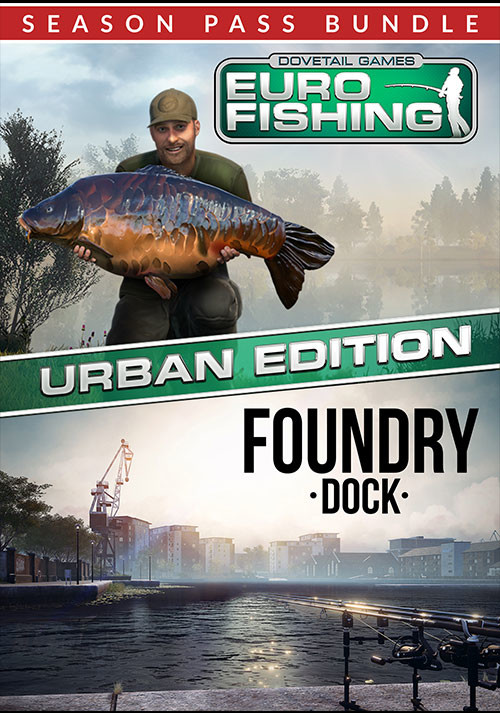 Euro Fishing: Urban Edition + Season Pass - Packshot