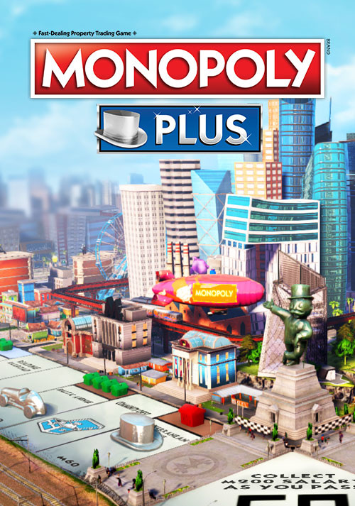 MONOPOLY® PLUS - Packshot